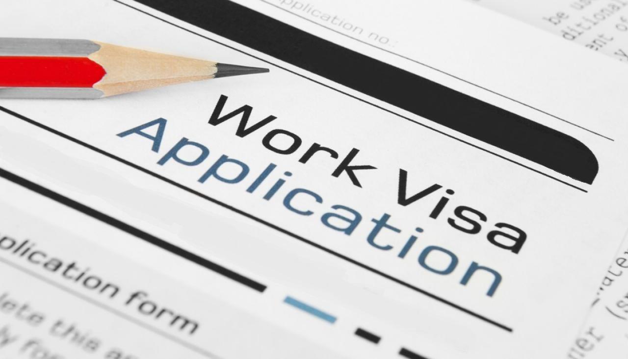 Work Permit Visa..